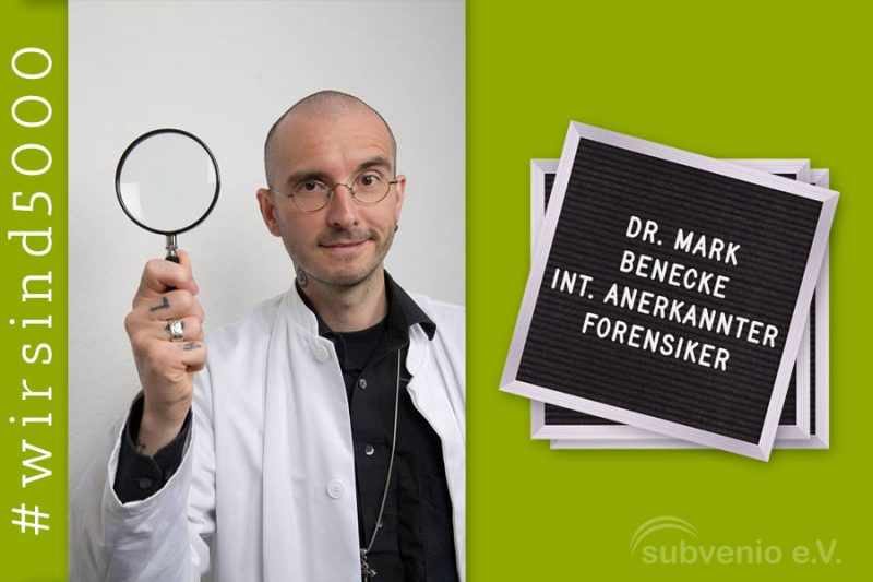 Dr. Mark Benecke, international anerkannter Forensiker